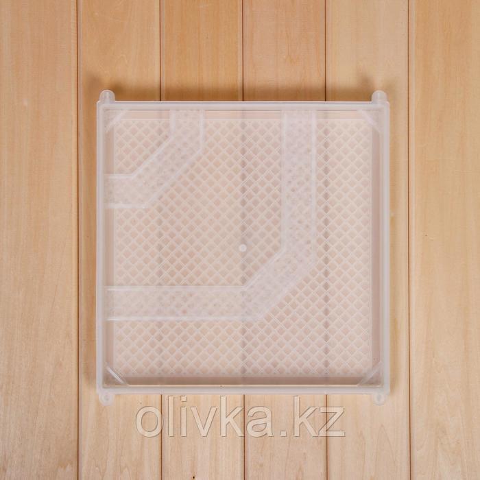 Форма для тротуарной плитки «Ковер» 30*30*2,4 см, полистирол