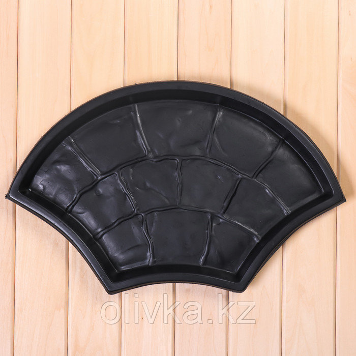Форма для тротуарной плитки, «Веер», 55 × 33 × 4 см, 1 шт