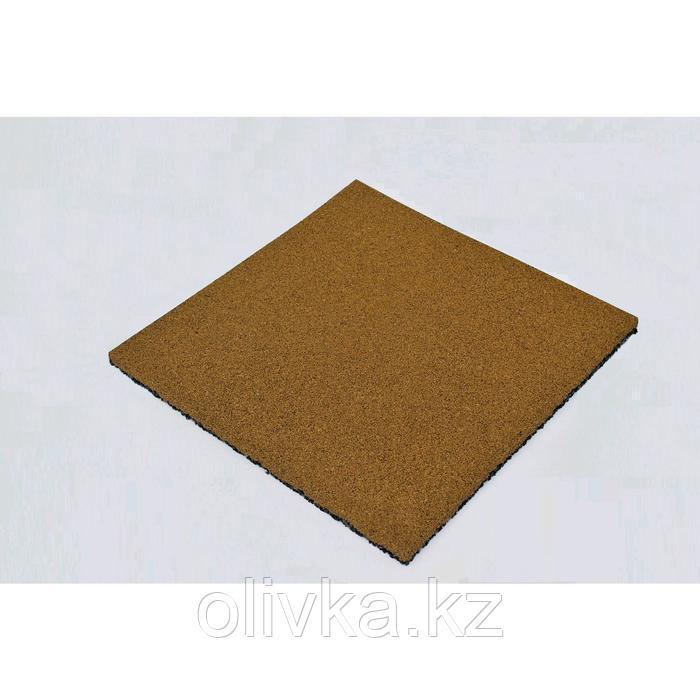 Плитка резиновая 50х50х3 см полнот желтый