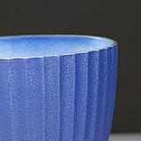 """Горшок для цветов """"Калифорния"""", синий жемчуг, 3.5 л, фото 2"""