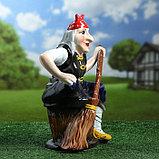 "Садовая фигура ""Баба Яга"", 45 см, фото 2"