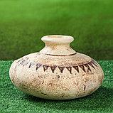 Садовая фигура ''Тыква'' амфора, шамот, 3,3 л, фото 2