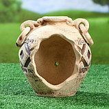 Садовая фигура ''София'' амфора, шамот, 2,25 л, фото 4