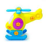 Конструктор для малышей «Вертолётик», 16 деталей, цвета МИКС, фото 2