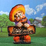 """Садовая фигура """"Гном лесовичок"""", глянец, разноцветная, 43 см, микс, фото 4"""