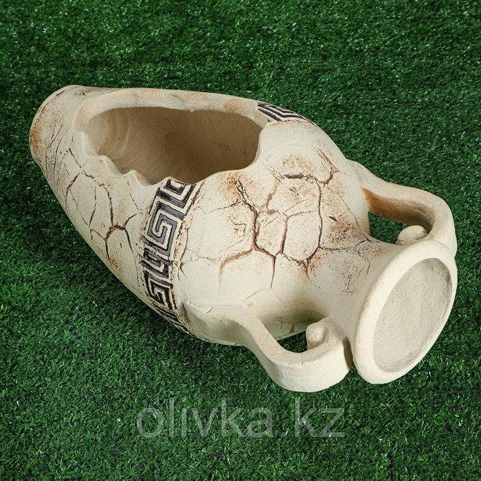 Садовая фигура ''Калипсо'' амфора, шамот, 24 см
