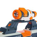 Автоматический бластер «Комбинатор», стреляет мягкими пулями, работает от аккумулятора, фото 3
