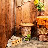 Ведро-туалет, 17 л, «Плетёнка», фото 2