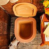 Ведро-туалет, 17 л, «Плетёнка», фото 3