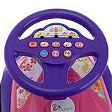 Машинка для катания «Машинка», с музыкальным рулем, фото 4