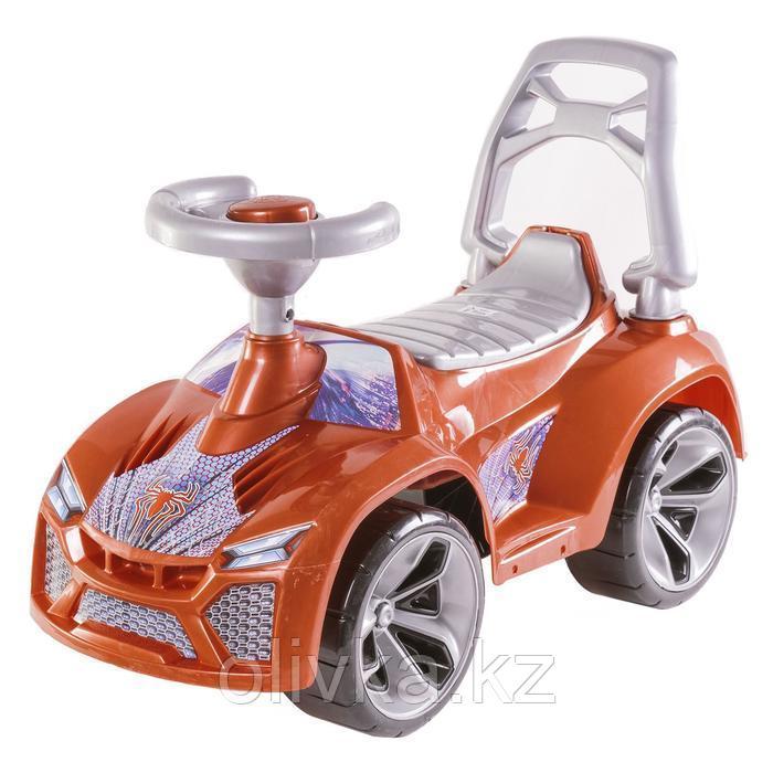 Машина-каталка «Ламбо», цвет перламутрово-коричневый