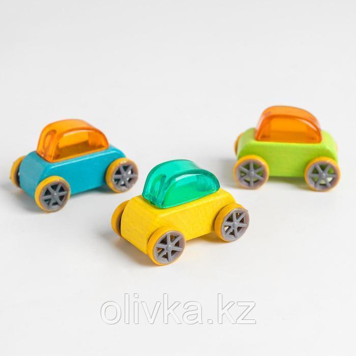 Деревянная машинка «Скорость» 4,5х3х3,5 см, МИКС