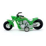 Мотоцикл инерционный «Чоппер», цвета МИКС, фото 2