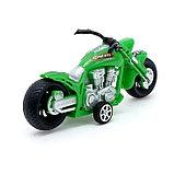 Мотоцикл инерционный «Чоппер», цвета МИКС, фото 3
