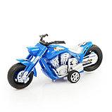 Мотоцикл инерционный «Чоппер», цвета МИКС, фото 6