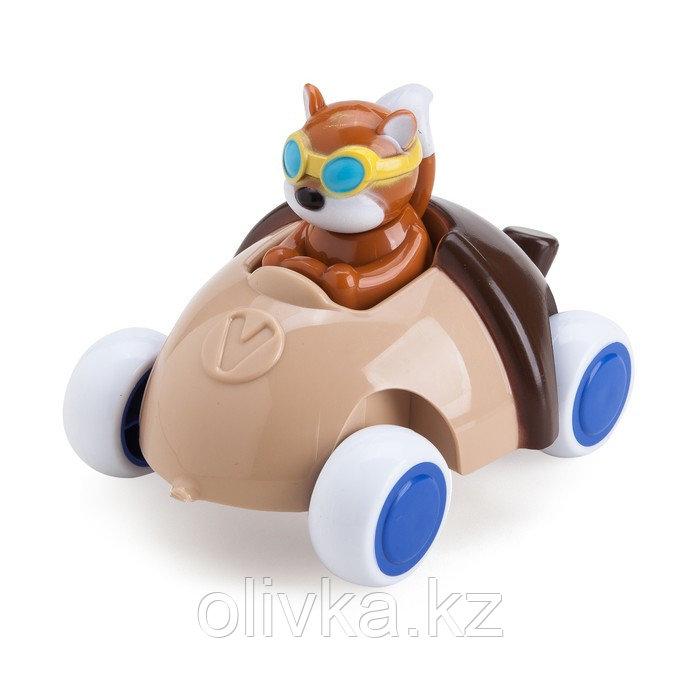 Игрушка «Машинка-жёлудь», с белочкой, 14 см