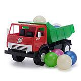 Машина с шариками, цвета МИКС, фото 2