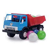 Машина с шариками, цвета МИКС, фото 5