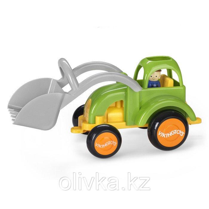 Машинка «Трактор JUMBO» новые цвета, с 1 фигуркой