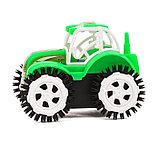 Трактор-перевёртыш «Фермер», работает от батареек, цвета МИКС, фото 2