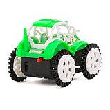 Трактор-перевёртыш «Фермер», работает от батареек, цвета МИКС, фото 3