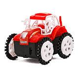 Трактор-перевёртыш «Фермер», работает от батареек, цвета МИКС, фото 4