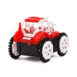 Трактор-перевёртыш «Фермер», работает от батареек, цвета МИКС, фото 6