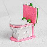 Мебель для кукол «Ванная с зеркалом», фото 2