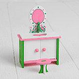 Мебель для кукол «Ванная с зеркалом», фото 3