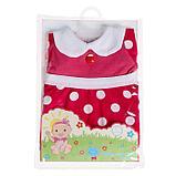 Одежда для кукол «Платье Забияка», МИКС, фото 3