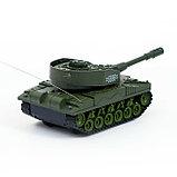 Танк радиоуправляемый «Т-64», работает от аккумулятора, световые и звуковые эффекты, цвета МИКС, фото 3