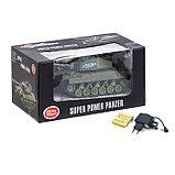 Танк радиоуправляемый «Т-64», работает от аккумулятора, световые и звуковые эффекты, цвета МИКС, фото 5