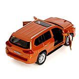 Машина металлическая Infinity QX80, открываются двери, инерция, свет, звук, цвета МИКС, фото 4