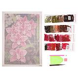 Алмазная мозаика «Дикая орхидея», 32 цвета, фото 2