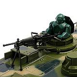 Танк радиоуправляемый «Мощь», стреляет BB пулями, работает от аккумулятора, фото 4