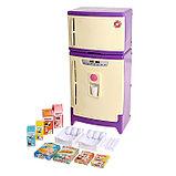 Холодильник двухкамерный с набором продуктов, цвета МИКС, фото 2