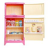 Холодильник двухкамерный с набором продуктов, цвета МИКС, фото 3