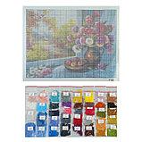 Алмазная мозаика «У окна» 40 × 30 см, 38 цвета, фото 2