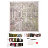 Алмазная мозаика «Летний сад», 35 цветов, фото 2