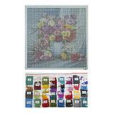 Алмазная мозаика «Красочный букет» 40 × 40 см, 35 цветов, фото 2
