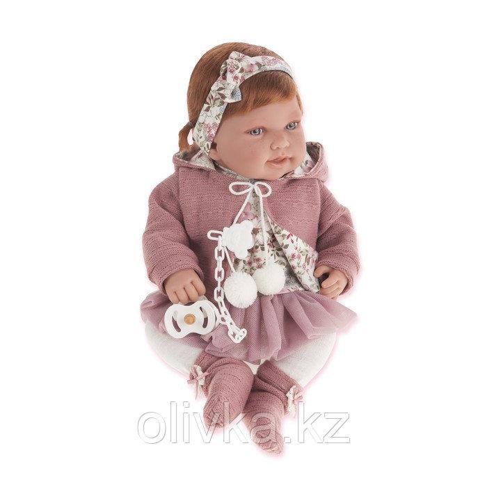 Кукла ANTONIO JUAN «Саманта», в розовом, 40 см