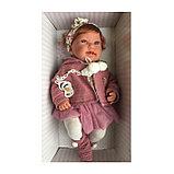 Кукла ANTONIO JUAN «Саманта», в розовом, 40 см, фото 2