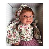 Кукла ANTONIO JUAN «Саманта», в розовом, 40 см, фото 3