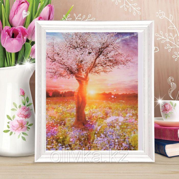Роспись по холсту «Древо жизни» по номерам с красками по3 мл+ кисти+инструкция+крепёж, 30 × 40 см