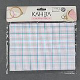 Канва для вышивания, в клетку, №11, 30 × 20 см, цвет белый, фото 2