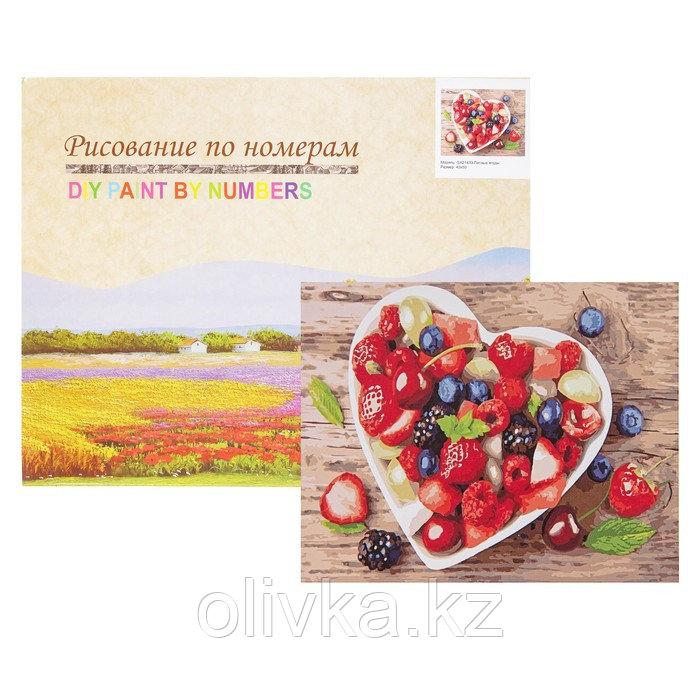 Картина по номерам «Лесные ягоды»
