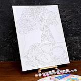 Картина по номерам на холсте с подрамником «Кофейный натюрморт» 40×50 см, фото 3