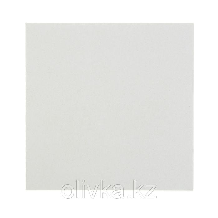 Пивной картон, 20 х 20 см, толщина 1.5 мм, 577 г/м2, белый