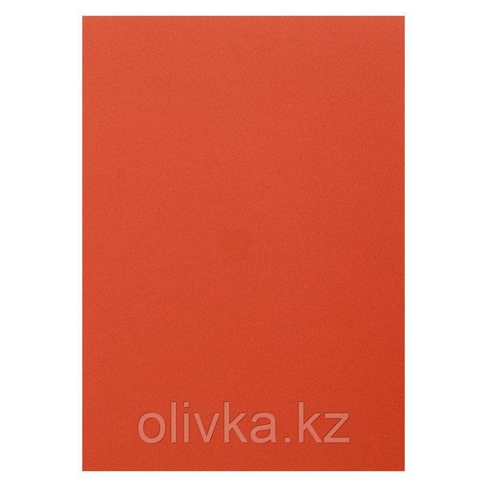 Картон цветной, Двусторонний: текстурный/гладкий, 210 х 297 мм, Sadipal Fabriano Elle Erre, 220 г/м, оранж т