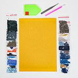 Алмазная мозаика «Волнистый попугайчик в тропиках», 23 цвета, фото 2